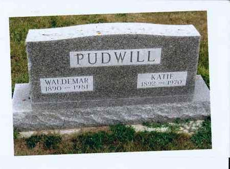 WEIXEL PUDWILL, KATIE - McIntosh County, North Dakota | KATIE WEIXEL PUDWILL - North Dakota Gravestone Photos