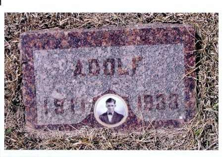 PUHLMAN, ADOLF - McIntosh County, North Dakota   ADOLF PUHLMAN - North Dakota Gravestone Photos
