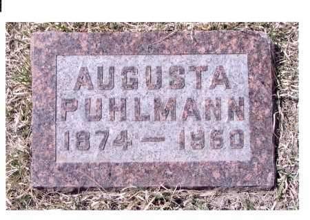 NITZEL PUHLMANN, AUGUSTA - McIntosh County, North Dakota   AUGUSTA NITZEL PUHLMANN - North Dakota Gravestone Photos