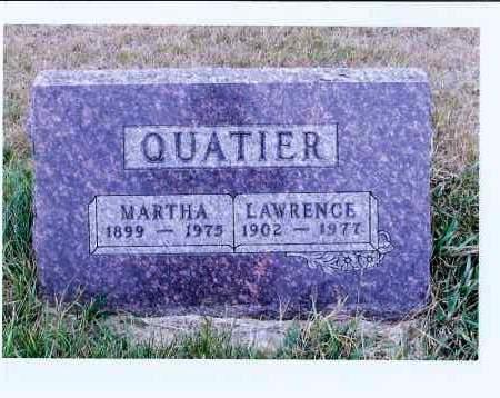 QUATIER, LAWRENCE - McIntosh County, North Dakota | LAWRENCE QUATIER - North Dakota Gravestone Photos