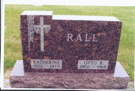 RALL, OTTO R. - McIntosh County, North Dakota | OTTO R. RALL - North Dakota Gravestone Photos