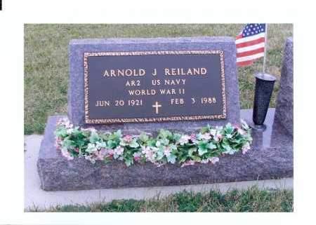 REILAND, ARNOLD J. - McIntosh County, North Dakota | ARNOLD J. REILAND - North Dakota Gravestone Photos