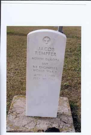 REMPFER, JACOB - McIntosh County, North Dakota   JACOB REMPFER - North Dakota Gravestone Photos