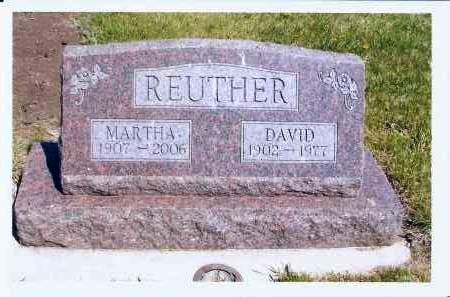 REUTHER, DAVID - McIntosh County, North Dakota | DAVID REUTHER - North Dakota Gravestone Photos