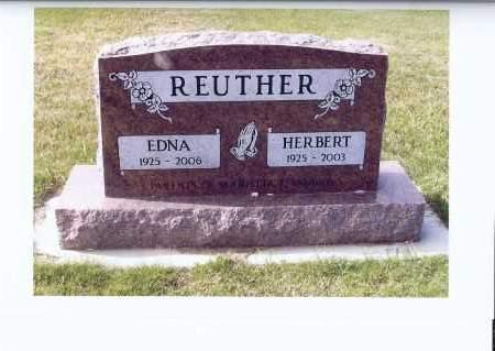 REUTHER, HERBERT - McIntosh County, North Dakota | HERBERT REUTHER - North Dakota Gravestone Photos