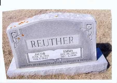REUTHER, JACOB - McIntosh County, North Dakota | JACOB REUTHER - North Dakota Gravestone Photos