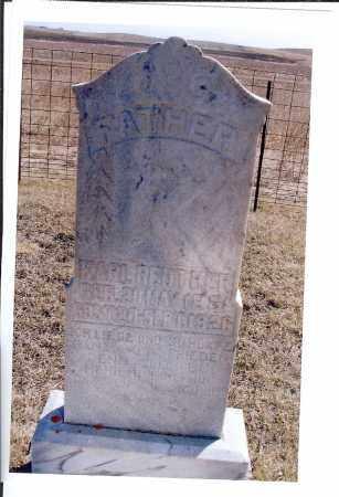 REUTHER, KARL - McIntosh County, North Dakota | KARL REUTHER - North Dakota Gravestone Photos