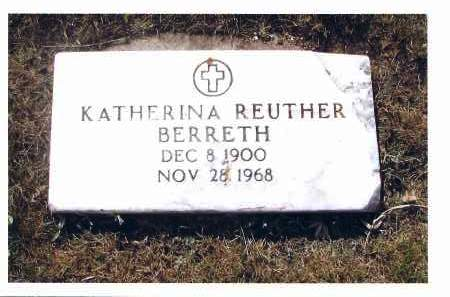 REUTHER, KATHERINA - McIntosh County, North Dakota | KATHERINA REUTHER - North Dakota Gravestone Photos