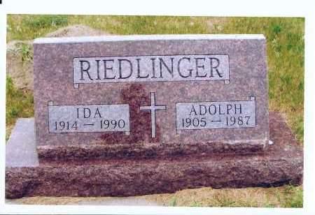 RIEDLINGER, ADOLPH - McIntosh County, North Dakota | ADOLPH RIEDLINGER - North Dakota Gravestone Photos