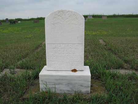 ROEDEL 049, WILMER E. - McIntosh County, North Dakota   WILMER E. ROEDEL 049 - North Dakota Gravestone Photos