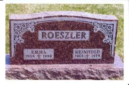 ROESZLER, REINHOLD - McIntosh County, North Dakota | REINHOLD ROESZLER - North Dakota Gravestone Photos