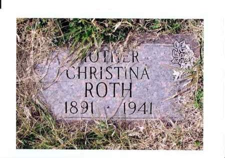 REMPFER ROTH, CHRISTINA - McIntosh County, North Dakota | CHRISTINA REMPFER ROTH - North Dakota Gravestone Photos