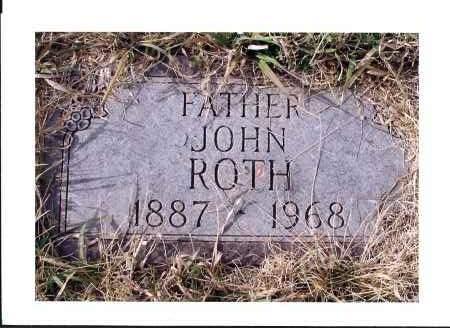 ROTH, JOHN - McIntosh County, North Dakota | JOHN ROTH - North Dakota Gravestone Photos