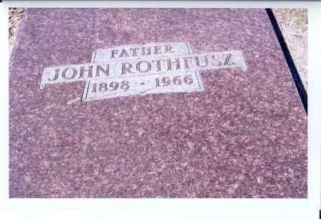 ROTHFUSZ, JOHN - McIntosh County, North Dakota | JOHN ROTHFUSZ - North Dakota Gravestone Photos