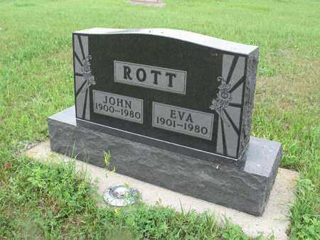 ROTT ROTT 112, EVA - McIntosh County, North Dakota | EVA ROTT ROTT 112 - North Dakota Gravestone Photos