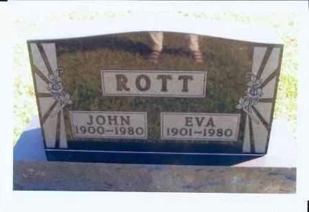 ROTT, EVA - McIntosh County, North Dakota | EVA ROTT - North Dakota Gravestone Photos
