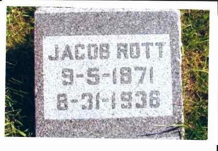 ROTT, JACOB - McIntosh County, North Dakota | JACOB ROTT - North Dakota Gravestone Photos