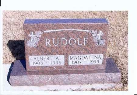 RUDOLF, MAGDALENA - McIntosh County, North Dakota   MAGDALENA RUDOLF - North Dakota Gravestone Photos