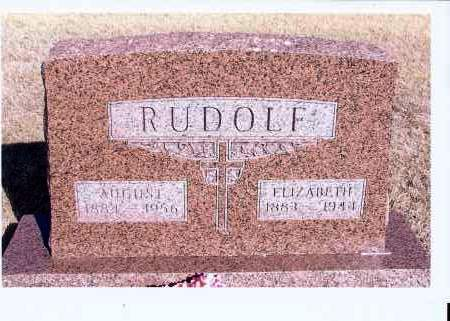 RUDOLF, AUGUST J. - McIntosh County, North Dakota | AUGUST J. RUDOLF - North Dakota Gravestone Photos