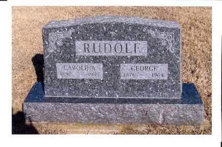 RUDOLF, GEORGE - McIntosh County, North Dakota | GEORGE RUDOLF - North Dakota Gravestone Photos