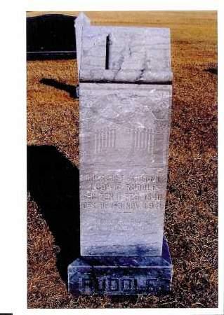 RUDOLF, LUDWIG - McIntosh County, North Dakota   LUDWIG RUDOLF - North Dakota Gravestone Photos