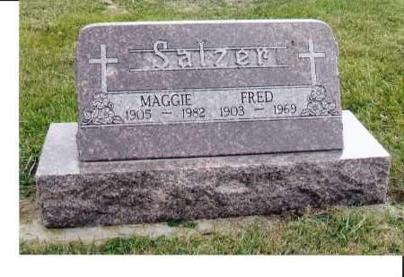 SALZER, FRED - McIntosh County, North Dakota | FRED SALZER - North Dakota Gravestone Photos