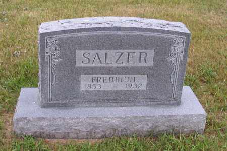 SALZER, FREDRICH - McIntosh County, North Dakota | FREDRICH SALZER - North Dakota Gravestone Photos