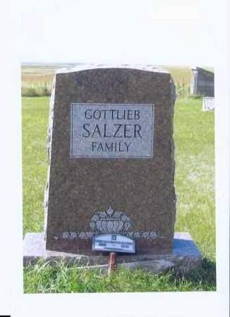 SALZER, GOTTLIEB - McIntosh County, North Dakota | GOTTLIEB SALZER - North Dakota Gravestone Photos