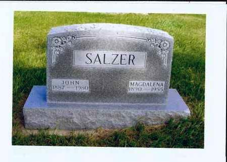 SALZER, JOHN - McIntosh County, North Dakota | JOHN SALZER - North Dakota Gravestone Photos