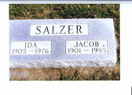 SALZER, JACOB - McIntosh County, North Dakota | JACOB SALZER - North Dakota Gravestone Photos