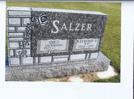 SALZER, RAYMOND F. (RAY) - McIntosh County, North Dakota | RAYMOND F. (RAY) SALZER - North Dakota Gravestone Photos