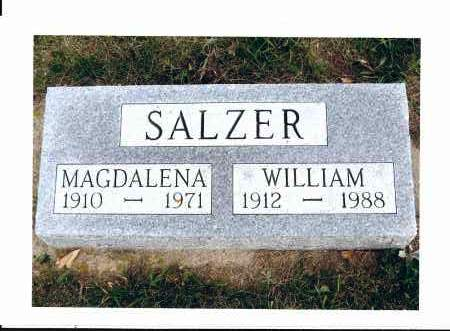 SALZER, WILLIAM - McIntosh County, North Dakota | WILLIAM SALZER - North Dakota Gravestone Photos