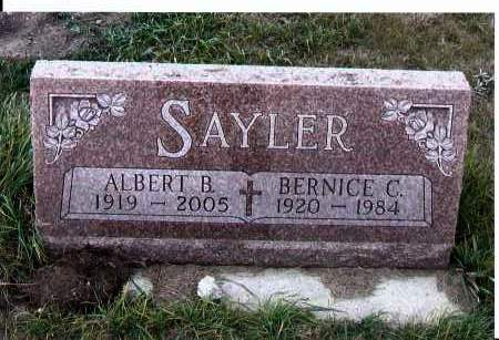 SAYLER, ALBERT B. - McIntosh County, North Dakota | ALBERT B. SAYLER - North Dakota Gravestone Photos