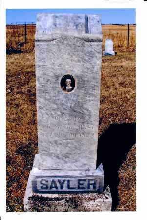 SAYLER, CHRISTINA - McIntosh County, North Dakota | CHRISTINA SAYLER - North Dakota Gravestone Photos