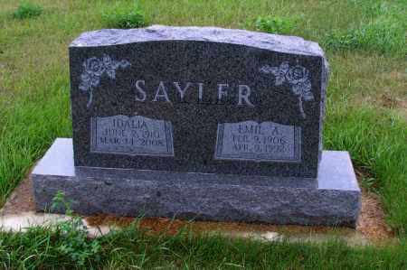 SAYLER, IDALIA - McIntosh County, North Dakota | IDALIA SAYLER - North Dakota Gravestone Photos