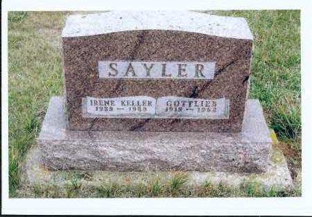 SAYLER, GOTTLIEB - McIntosh County, North Dakota | GOTTLIEB SAYLER - North Dakota Gravestone Photos