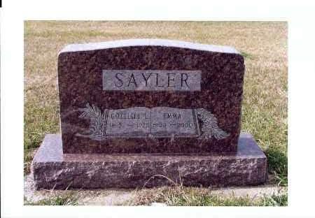 GUTHMILLER SAYLER, EMMA - McIntosh County, North Dakota | EMMA GUTHMILLER SAYLER - North Dakota Gravestone Photos