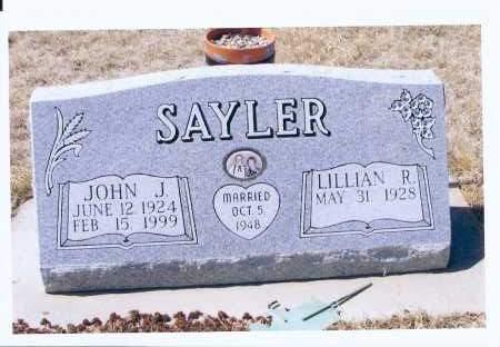 SAYLER, JOHN J. - McIntosh County, North Dakota | JOHN J. SAYLER - North Dakota Gravestone Photos