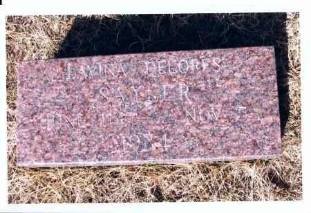 SAYLER, LAVINA DELORES - McIntosh County, North Dakota   LAVINA DELORES SAYLER - North Dakota Gravestone Photos