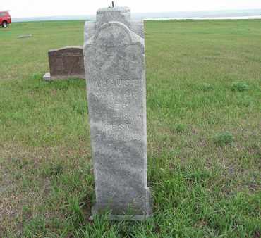 SCHACK 016, AUGUST - McIntosh County, North Dakota | AUGUST SCHACK 016 - North Dakota Gravestone Photos