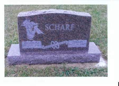 SCHARF, MAGDALENA - McIntosh County, North Dakota | MAGDALENA SCHARF - North Dakota Gravestone Photos
