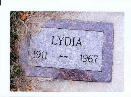 GRUEBELE SCHARF, LYDIA - McIntosh County, North Dakota   LYDIA GRUEBELE SCHARF - North Dakota Gravestone Photos