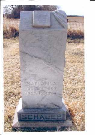 SCHAUER, KATHARINA - McIntosh County, North Dakota | KATHARINA SCHAUER - North Dakota Gravestone Photos