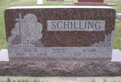 SCHILLING, ADAM - McIntosh County, North Dakota   ADAM SCHILLING - North Dakota Gravestone Photos