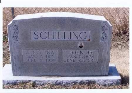 SCHILLING, CHRISTINA - McIntosh County, North Dakota   CHRISTINA SCHILLING - North Dakota Gravestone Photos
