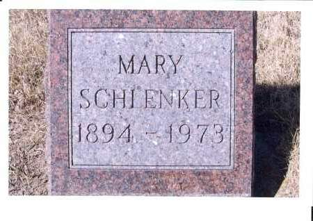 SCHLENKER, MARY - McIntosh County, North Dakota | MARY SCHLENKER - North Dakota Gravestone Photos