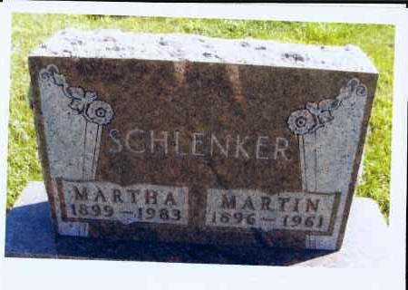 FEY SCHLENKER, MARTHA - McIntosh County, North Dakota | MARTHA FEY SCHLENKER - North Dakota Gravestone Photos
