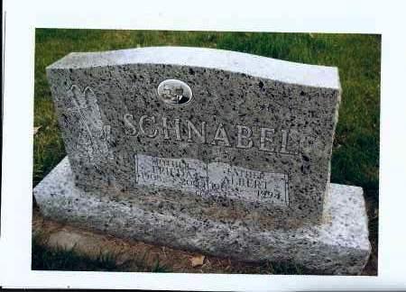 SCHNABEL, ALBERT - McIntosh County, North Dakota | ALBERT SCHNABEL - North Dakota Gravestone Photos