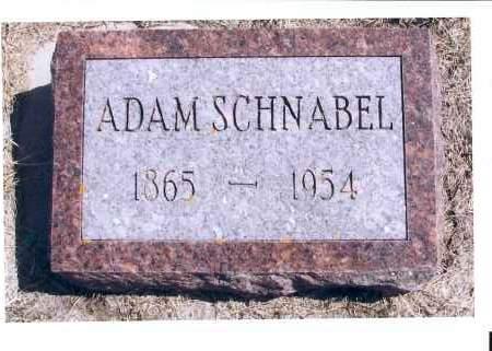SCHNABEL, ADAM - McIntosh County, North Dakota | ADAM SCHNABEL - North Dakota Gravestone Photos