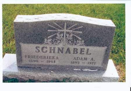 SCHNABEL, FRIEDERIEKA - McIntosh County, North Dakota | FRIEDERIEKA SCHNABEL - North Dakota Gravestone Photos